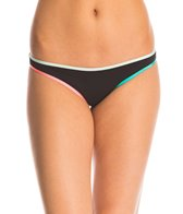B.Swim Edgy Noir Nova Cheeky Reversible Bikini Bottom
