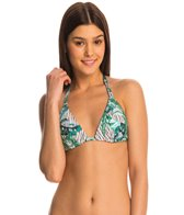 B.Swim Cabana Beachy Push Up Triangle Bikini Top
