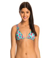 B.Swim Luau Le Flip Reversible Triangle Bikini Top
