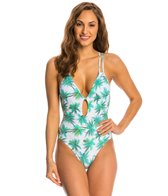 Peixoto Swimwear Palm Island Isla Full One Piece Swimsuit