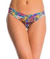 Peixoto Swimwear Coral Reef Aloe Latin Bikini Bottom