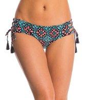 Michael Kors Swimwear Nui Shirred Tie Side Bottom