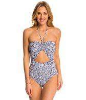Michael Kors Swimwear Chiltington Bandeau One Piece Swimsuit