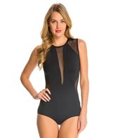 Carmen Marc Valvo Aloha Sunrise Kayak Sleeveless One Piece Swimsuit