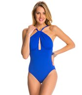 Carmen Marc Valvo Daiquiri Catalina Total Body Control One Piece Swimsuit