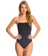 Kate Spade Plage Du Midi Mini Bow One Piece Swimsuit