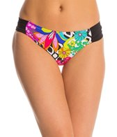 Trina Turk Swimwear Balboa Shirred Side Hipster Bikini Bottom