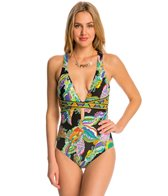 Trina Turk Swimwear Sea Garden One Piece Swimsuit