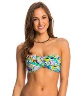 Trina Turk Swimwear Nomad Paisley Twist Bandeau Bikini Top