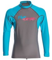 Dakine Kids Heavy Duty Snug Fit Long Sleeve Rash Guard
