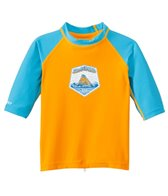Dakine Toddler Boys 3/4 Sleeve Snug Fit Rash Guard
