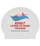 USMS Learn to Swim Latex Swim Cap