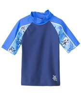 Tuga Infant Boys' UPF 50+ Thresher Frenzy Breaker S/S Rash Guard (6mos-18mos)