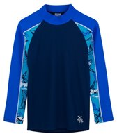 Tuga Boys' UPF 50+ Thresher Frenzy Tube L/S Rash Guard (2yrs-14yrs)