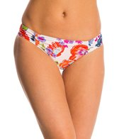 Splendid Full Bloom Reversible Retro Hipster Bikini Bottom