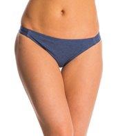 Splendid Malibu Solid Strap Hipster Bikini Bottom