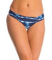 Splendid Midnight Stripe Reversible Retro Hipster Bikini Bottom