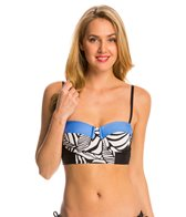 Splendid Canopy Molded Underwire Crop Midkini Top