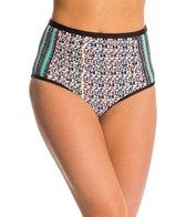 Ella Moss Mazatlan High Waist Bikini Bottom