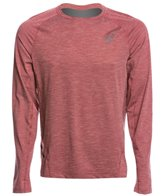 Asics Men's Mesh Long Sleeve Crew