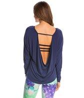 Onzie Scoop Back Yoga Long Sleeve Top