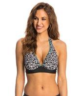 Beach Diva Swimwear Miramar UW Halter Bikini Top (D-Cup)