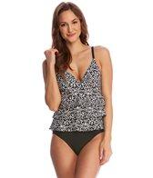Beach Diva Swimwear Miramar Tiered One Piece Swimsuit