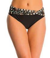 Beach Diva Swimwear Wild Inhibitions Twist Hi Waist Bikini Bottom