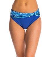 Beach Diva Swimwear Mozambique Channel Twist Hi Waist Bikini Bottom