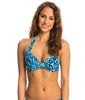Beach Diva Swimwear Madagascar Wild UW Halter Bikini Top