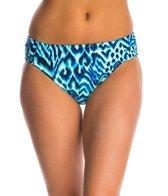 Beach Diva Swimwear Madagascar Wild Soft Side Hi Waist Bikini Bottom