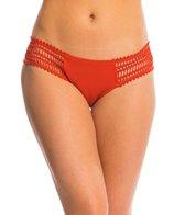 Robin Piccone Sophia Crochet Side Tab Bikini Bottom