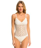 Robin Piccone Sophia Mitered One Piece Swimsuit