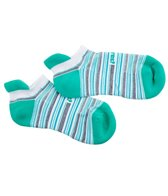 Feetures Stripes HP Cushion No Show Tab Running Socks