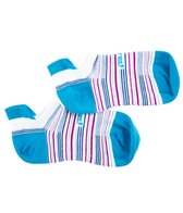 Feetures Stripes HP Ultra Light No Show Tab Running Socks