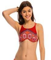 MINKPINK Swimwear Rosewater High Neck Bikini Top