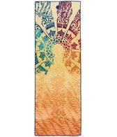 YogiToes Chakra rSkidless Yoga Mat Towel