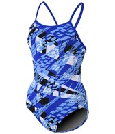 Dolfin Girls' Zephyr V-Back One Piece Swimsuit