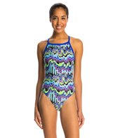 Dolfin Winners Camino V-2 Back One Piece Swimsuit