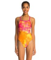 Dolfin Bellas Splash Cross Back One Piece Swimsuit