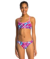 Dolfin Uglies Crazy Hearts Bikini Two Piece Swimsuit