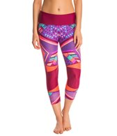 Body Glove Breathe Women's Sabina Hybrid Capri Legging
