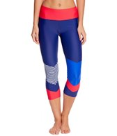 Body Glove Breathe Women's Victory Champ Hybrid Capri Legging