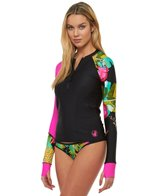 Body Glove Breathe Women's Akela Sleek Long Sleeve Rash Guard