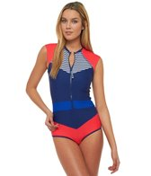 Body Glove Breathe Women's Victory Stand Up Cap Sleeve One Piece Swimsuit