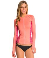 Rip Curl Women's Trestles Long Sleeve Front Zip Rash Guard