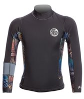 Rip Curl Youth's 1.5mm Aggrolite Zip Free Sublimated Wetsuit Jacket