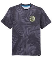Rip Curl Youth's Aggrolite Short Sleeve Surf Shirt