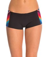 Rip Curl Women's 1mm G-bomb Zip Free Sublimated Wetsuit Boyshort