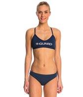 Waterpro Lifeguard Cross Back Two Piece Swimsuit Set